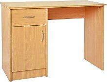 Ruication Computer-Schreibtisch mit 1 Schublade 1