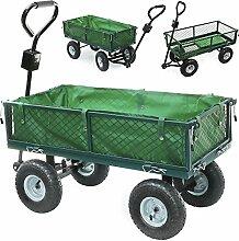 Ruication Gartenwagen, robust, groß, mit 4