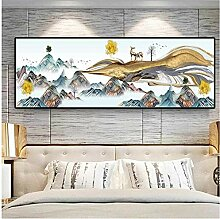 RuiChuangKeJi Bilddrucke 20x60cm Mit Rahmen