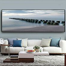 RuiChuangKeJi Bilddrucke 30x90cm mit Rahmen