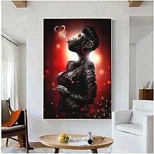 RuiChuangKeJi Bilddrucke 50x70cm Mit Rahmen