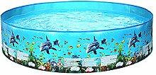 Ruiqas Aufblasbares Schwimmbad Quick Set über dem