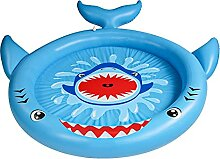 Ruiqas Planschbecken für 63 Zoll Sprinkler Wasser