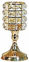 RUIR Kristall Kerzenhalter, Kommunion Dekoration,