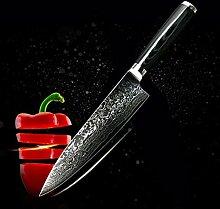 Ruka Damaststahl Chefmesser 20cm Küchenmesser,
