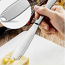 Ruluti 1pc Edelstahl Butter Käse Dessert Jam