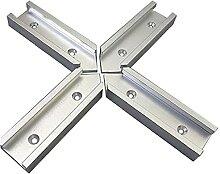 Ruluti 4 Stück T-spur Slot Fixture Slot Stecker