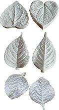 Ruluti 6pcs Hydrangea Blätter
