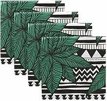 Rulyy Stoffservietten Tropical Cannabis Blatt