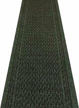 Rumba dunkelgrün–Hall, Treppe Teppich Läufer (erhältlich in jede Länge bis 30m), L: 1.20m (3ft 11in) x W: 80cm