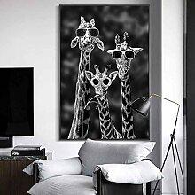 Rumlly Giraffen mit Sonnenbrille Lustige