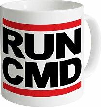 Run CMD Becher, Weiß