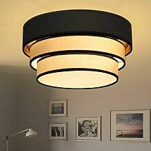 Rund Deckenleuchte Ø40cm Wohnzimmer Deckenlampe