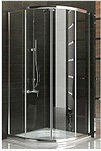 Rund Duschkabine Duschabtrennung Viertelkreis