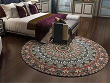 Rund Mandala Muster Modern Teppich für