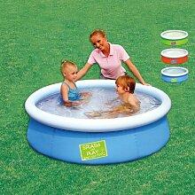 Rund Pool Splash & Play für Kinder aus PVC und Polyester Schweres