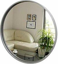 Rund Spiegel, Wandspiegel, 50cm Durchmesser, Holz,
