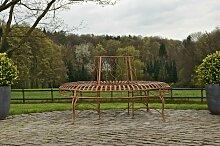 Rundbank Kayden-antik_braun