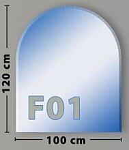 Rundbogen F01 Funkenschutzplatte Glasbodenplatte