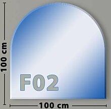 Rundbogen F02 Funkenschutzplatte Glasbodenplatte