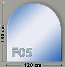 Rundbogen F05 Funkenschutzplatte Glasbodenplatte