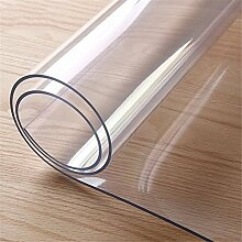 runde durchsichtige kunststoff tischdecke pvc