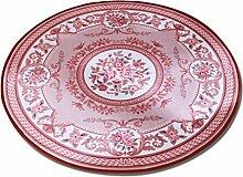 Runde Fußmatten, Teppich kreative Muster Vintage