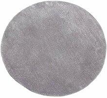Runde grauen Teppich