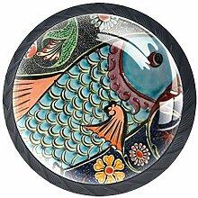 Runde Keramikknäufe mit Schrauben für Möbel,