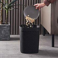 Runde Kunststoff Mülleimer, Abfallkorb, Moderne