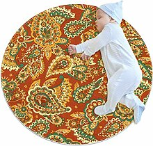 Runde Matte Fußmatten Runde Teppich Chinoiserie