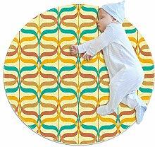 Runde Matte Fußmatten Runde Teppich Sonderlinien