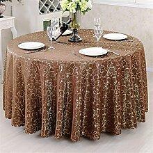 Runde / quadratische Tischdecke für Hochzeit und