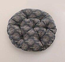Runde Sitzkissen im Freien, Tatami-Matten aus