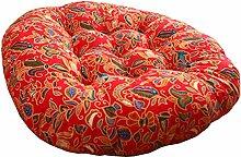Runde Sofa Sitzpolsterung Bodenkissen Stuhl Kissen Durchmesser 17.72 Zoll # 09