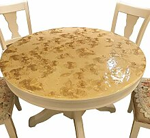 Runde Tabelle Tischdecke Pvc Transparent Weichem
