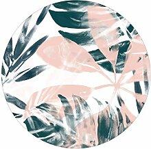 Runde Tapete selbstklebend - Tropisches Orakel