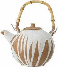 Runde Teekanne aus Stein Camelia