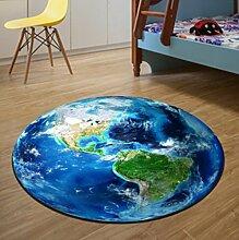 Runde Teppich Kinder Schlafzimmer Nachttischdecke , 120cm , 3
