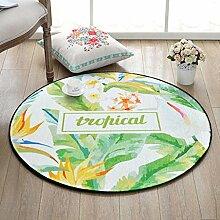 Runde Teppich Schlafzimmer Wohnzimmer Couchtisch Korb Korb Decken Zimmer Computer Stuhl Matten , 5 , 100*100cm