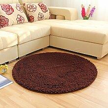 Runde Teppich Teppich Fitness Yoga Teppich Computer Stuhl Kissen Schlafzimmer Wohnzimmer Bettdecke Teppich ( Farbe : B , größe : Diameter 200CM )