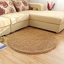 Runde Teppich Teppich Fitness Yoga Teppich Computer Stuhl Kissen Schlafzimmer Wohnzimmer Bettdecke Teppich ( Farbe : C , größe : Diameter 200CM )