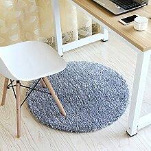 Runde Teppich Teppich Fitness Yoga Teppich Computer Stuhl Kissen Schlafzimmer Wohnzimmer Bettdecke Teppich ( Farbe : A , größe : Diameter 120cm )