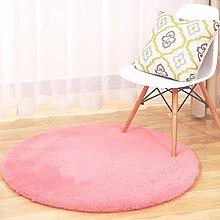 Runde Teppich Teppich Fitness Yoga Teppich Computer Stuhl Kissen Schlafzimmer Wohnzimmer Bedside Teppich ( Farbe : 8# , größe : Diameter 160CM )