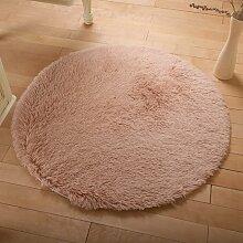 Runde Teppich Teppich Fitness Yoga Teppich Computer Stuhl Kissen Schlafzimmer Wohnzimmer Bettdecke Teppich ( Farbe : 9# , größe : Diameter 140CM )