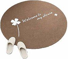 Runde Teppiche für Wohnzimmer Schlafzimmer Flur