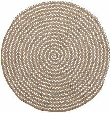Runde Teppiche für Wohnzimmer Schlafzimmer und