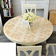 Runde tischdecke/anti-oil free waschen table mat-C 70cm(28inch)