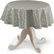 Runde Tischdecke, beige, Ø 135 cm, SALE