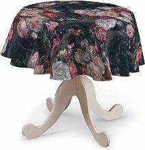 Runde Tischdecke, bunt, Ø 135 cm, Gardenia